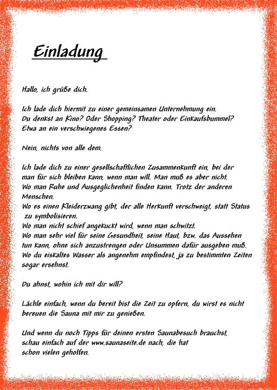 einladung für visum deutschland | brillebrille, Einladung